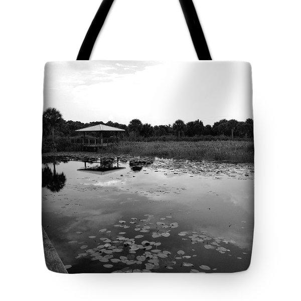 The Pavillion 3 Tote Bag by K Simmons Luna