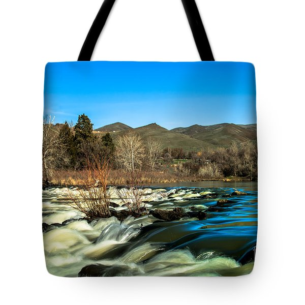 The Payette River Tote Bag by Robert Bales