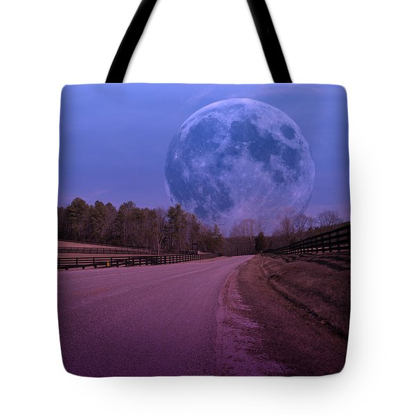 The Peace Moon  Tote Bag by Betsy Knapp