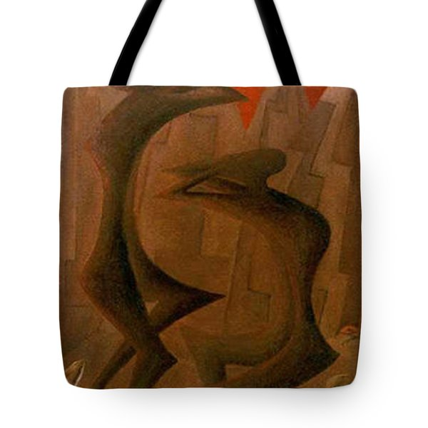 The Penance Dance Tote Bag