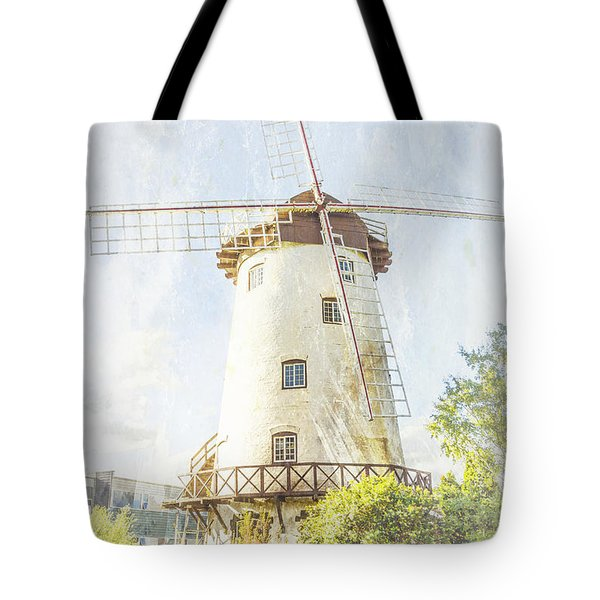 Tote Bag featuring the photograph The Penny Royal Windmill by Elaine Teague