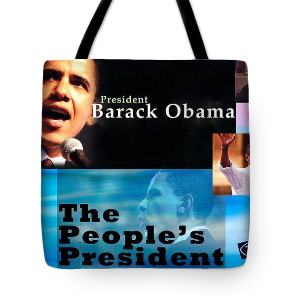 The People's President Still Tote Bag