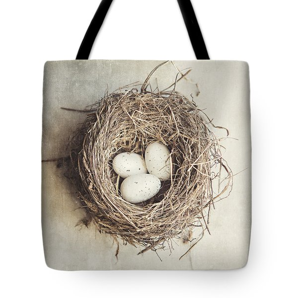The Perfect Nest Tote Bag by Lisa Russo