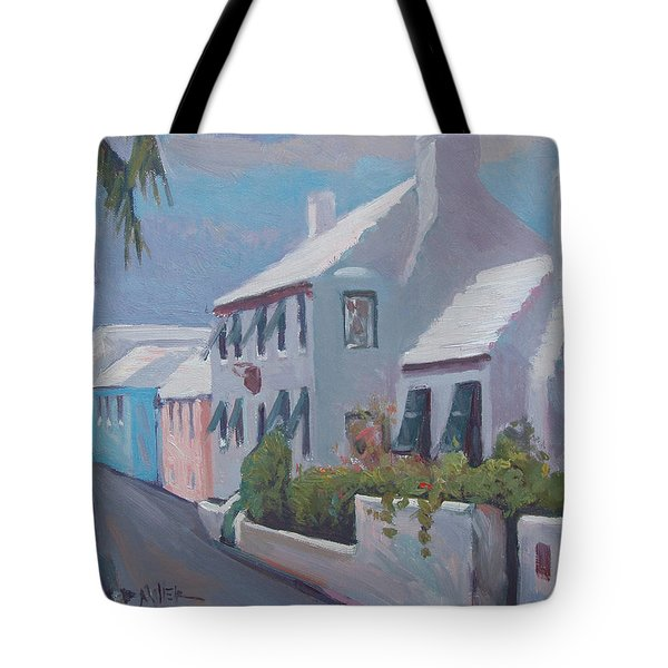 The Perfume Factory Tote Bag by Dianne Panarelli Miller
