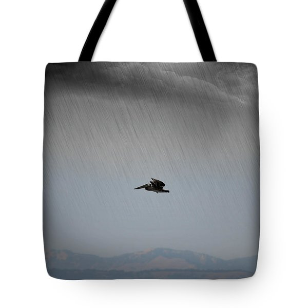 The Persevering Pelican Tote Bag