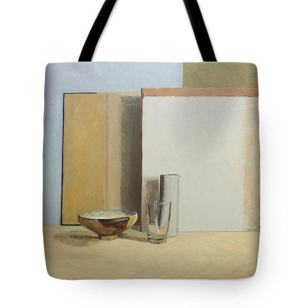 The Peruvian Bowl  Tote Bag by William Packer