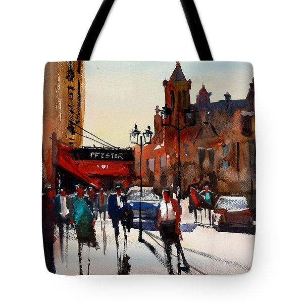 The Pfister - Milwaukee Tote Bag