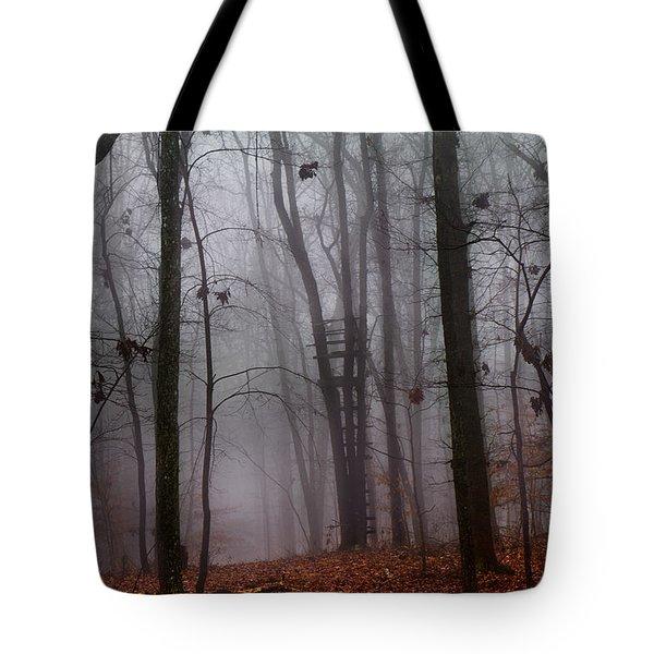 The Phantom Rises Tote Bag by Betsy Knapp