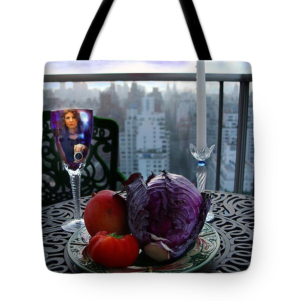 The Photographer Tote Bag by Madeline Ellis