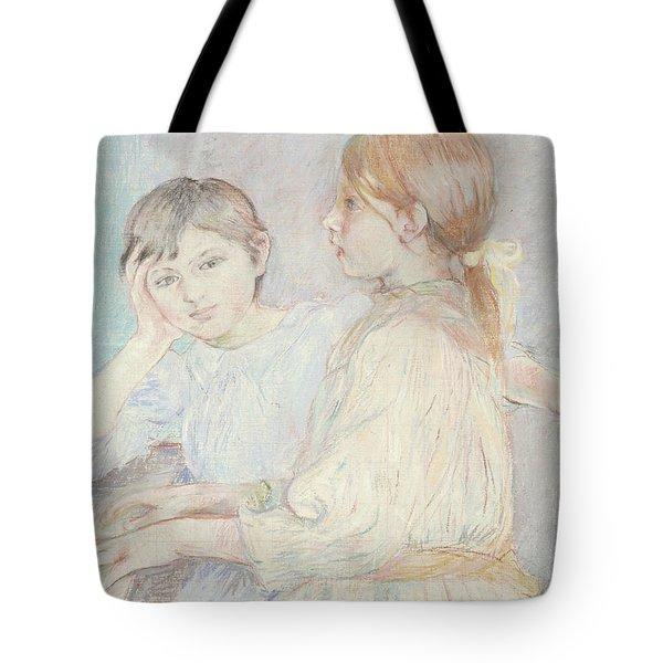 The Piano Tote Bag by Berthe Morisot