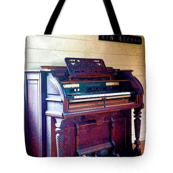 The Piano Tote Bag by Yew Kwang