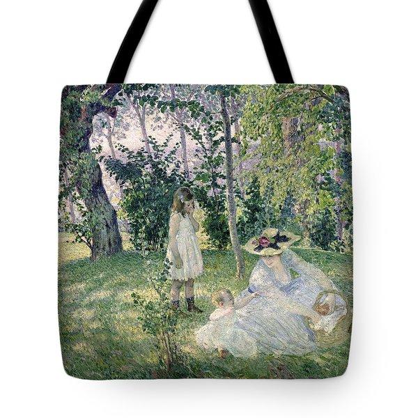 The Picnic Tote Bag by Henri Lebasque