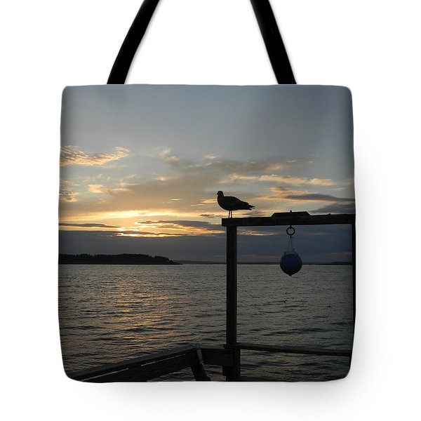 The Pier Tote Bag by Jean Goodwin Brooks