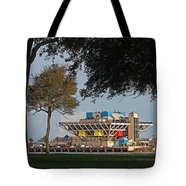 The Pier - St. Petersburg Fl Tote Bag