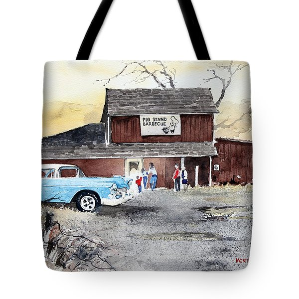 The Pig Stand Tote Bag