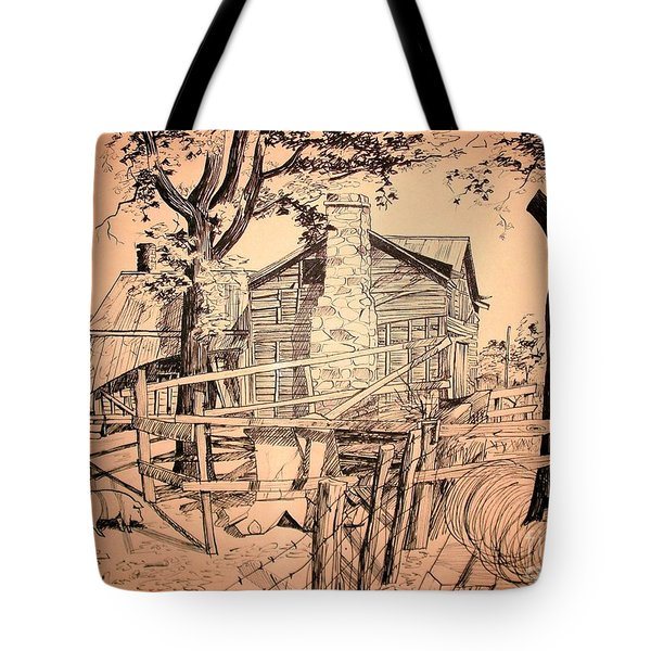 The Pig Sty Tote Bag