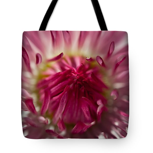 The Pink Center Tote Bag by Sabine Edrissi