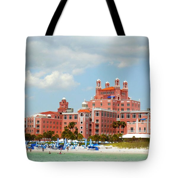 The Pink Palace Tote Bag by Valerie Reeves