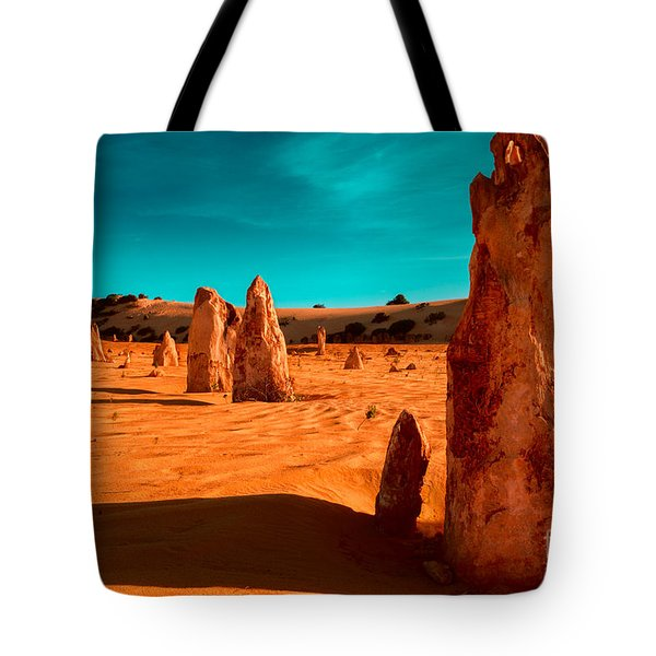 The Pinnacles Tote Bag