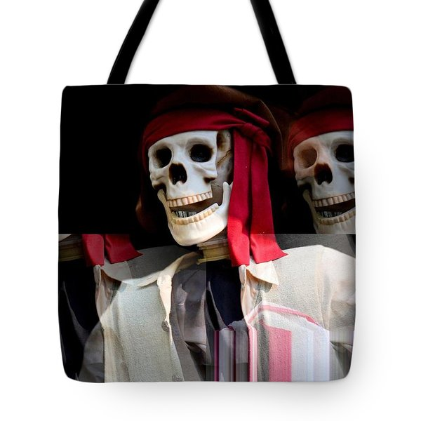 The Pirate's Ghost Tote Bag by Maria Urso