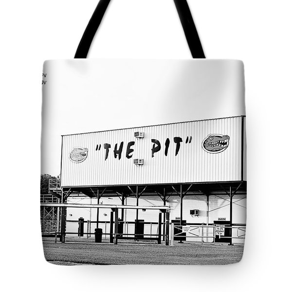The Pit Tote Bag by Scott Pellegrin