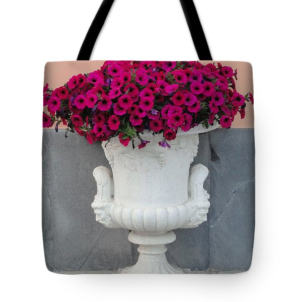 Tote Bag featuring the photograph The Planter by Natalie Ortiz