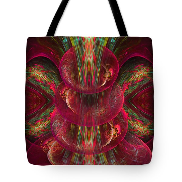 The Playground In My Mind 2 - Abstract Fantasy Art By Giada Rossi Tote Bag