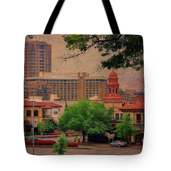The Plaza - Kansas City Missouri Tote Bag by Liane Wright
