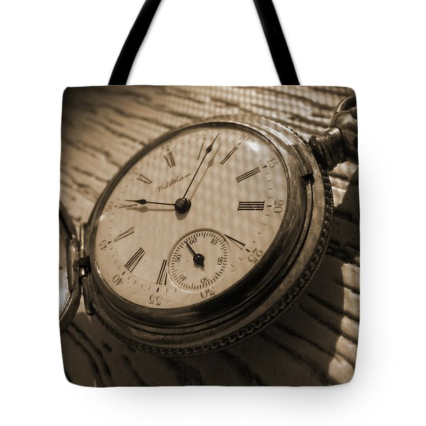 The Pocket Watch Tote Bag by Mike McGlothlen