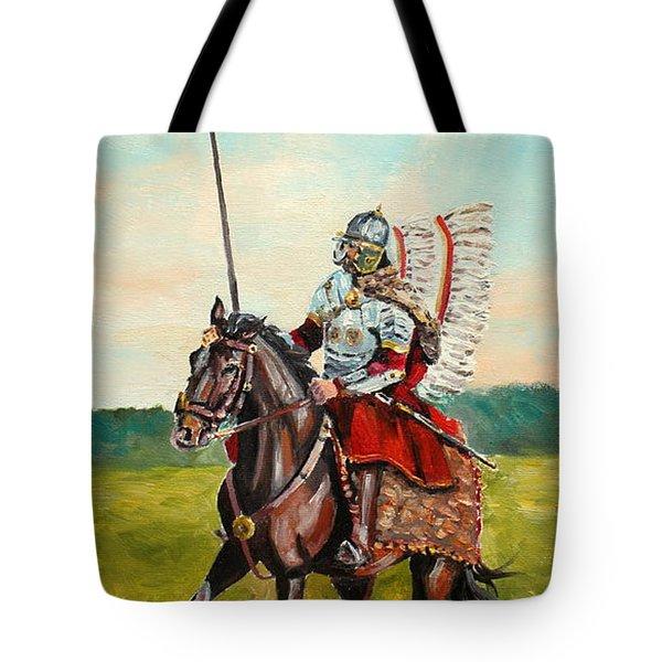 The Polish Winged Hussar Tote Bag