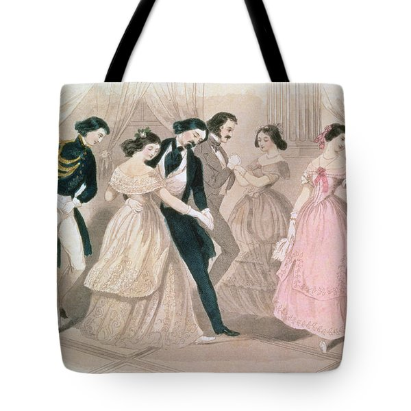 The Polka Fashions Tote Bag by English School
