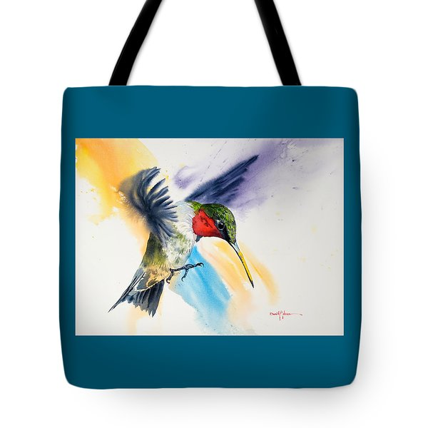 Da170 The Pollinator Daniel Adams Tote Bag