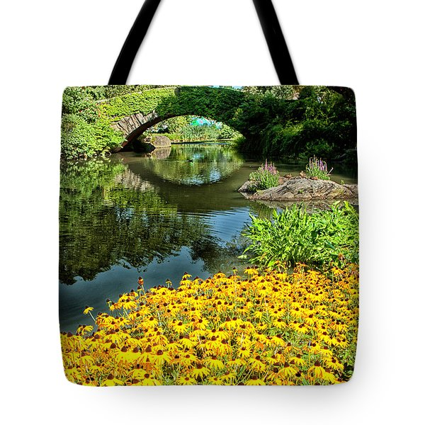 The Pond Tote Bag by Karol Livote
