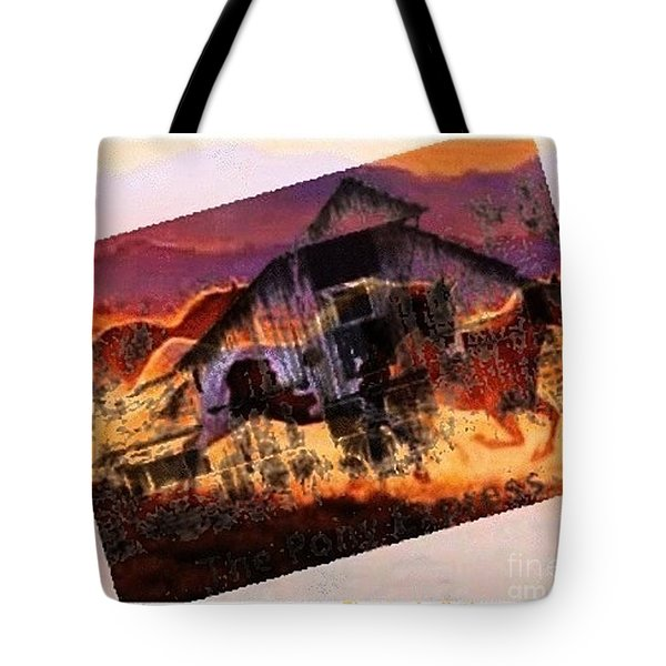 The Pony Express Tote Bag by PainterArtist FIN