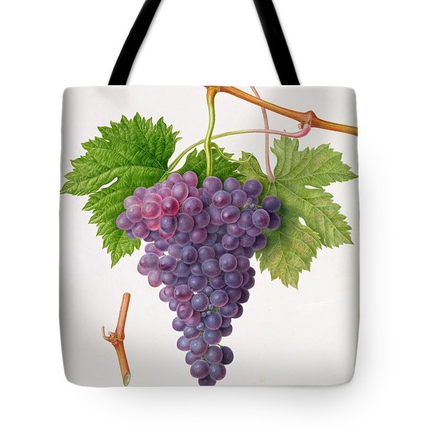 The Poonah Grape Tote Bag by William Hooker