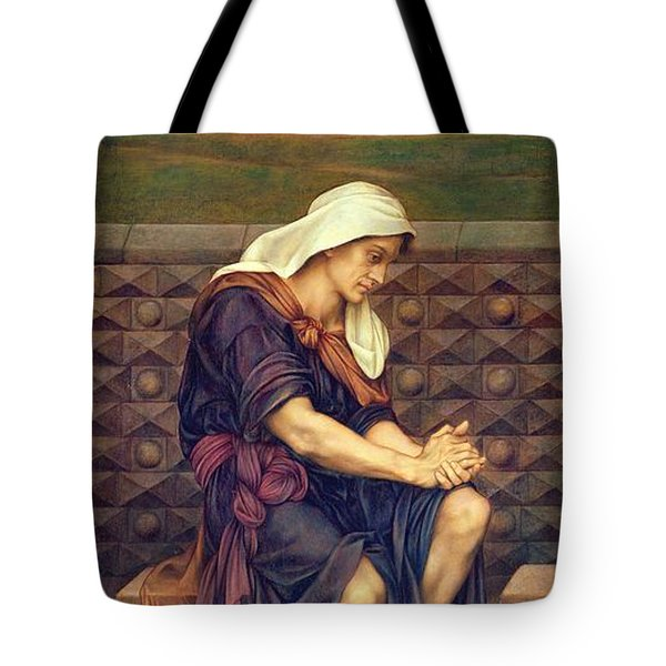 The Poor Man Who Saved The City Tote Bag by Evelyn De Morgan