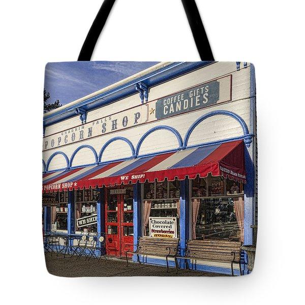The Popcorn Shop Tote Bag