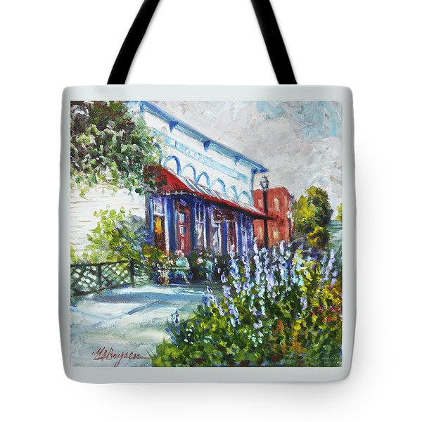 The Popcorn Shop In Chagrin Falls Oh Tote Bag