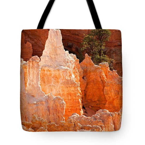 The Pope Sunrise Point Bryce Canyon National Park Tote Bag