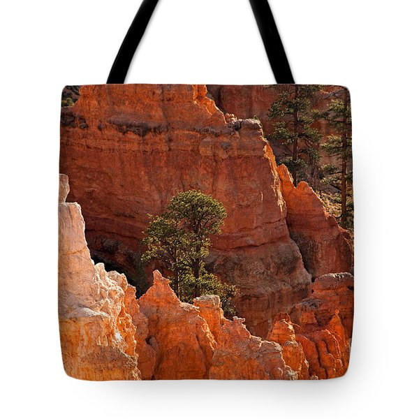 The Popesunrise Point Bryce Canyon National Park Tote Bag