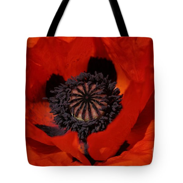The Poppy Is Also A Flower Tote Bag