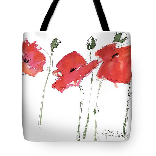The Poppy Ladies Tote Bag