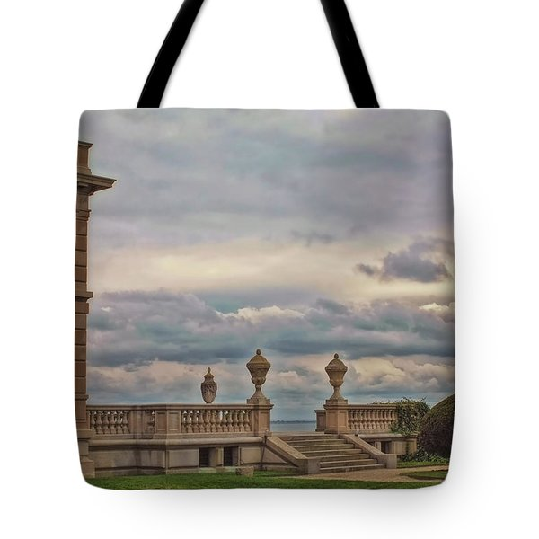 The Porch Tote Bag by Joann Vitali