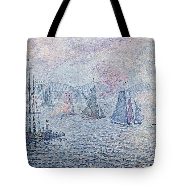 The Port Of Rotterdam, Or The Fumes Tote Bag