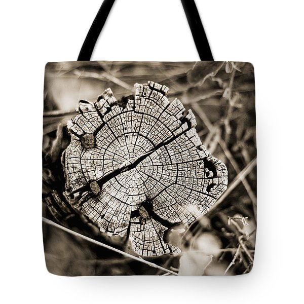 Tote Bag featuring the photograph The Post by Amber Kresge