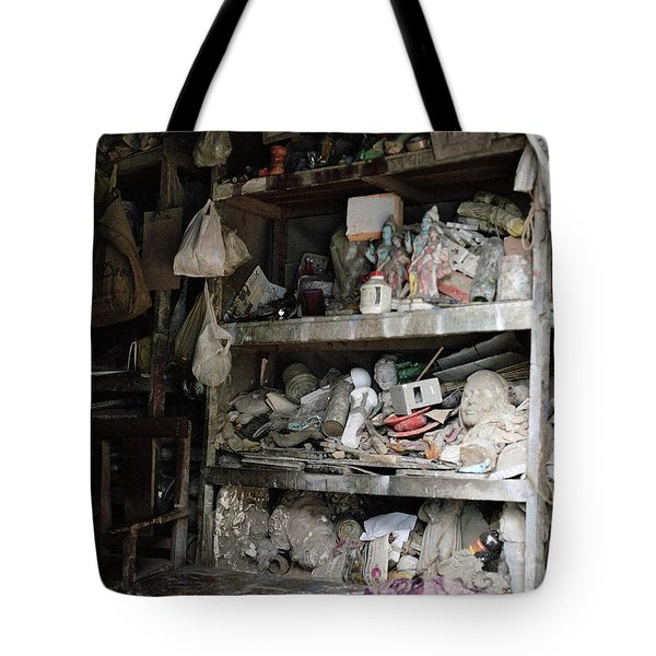 The Potter's Workshop Tote Bag by Shaun Higson