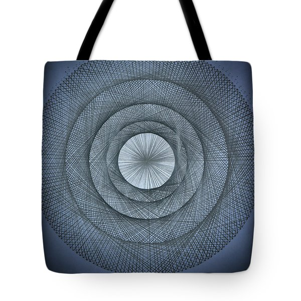 The Power Of Pi Tote Bag by Jason Padgett