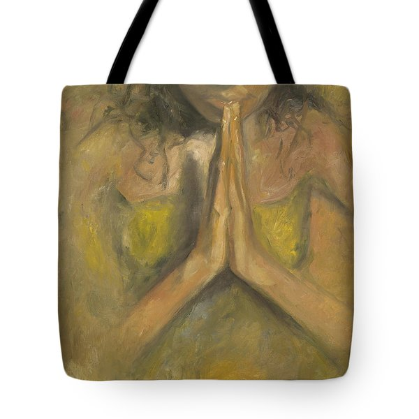 The Power Of Prayer - Blind Faith Tote Bag