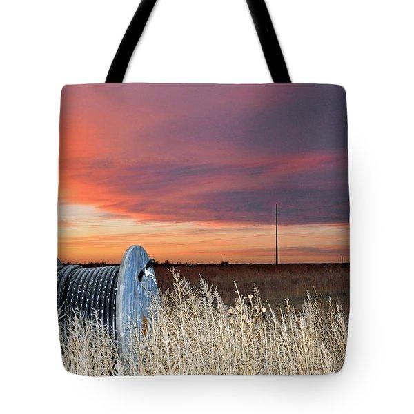 The Prairie Tote Bag by Minnie Lippiatt