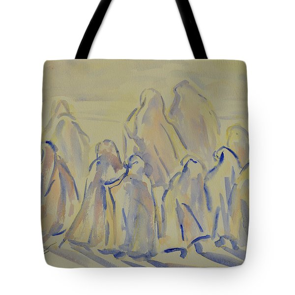 The Prayers...ii Tote Bag by Xueling Zou